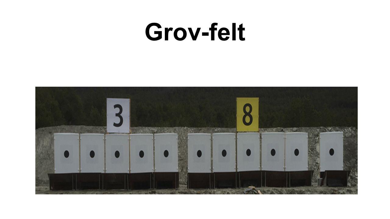 OVERSIKT GROVFELTLØYPE