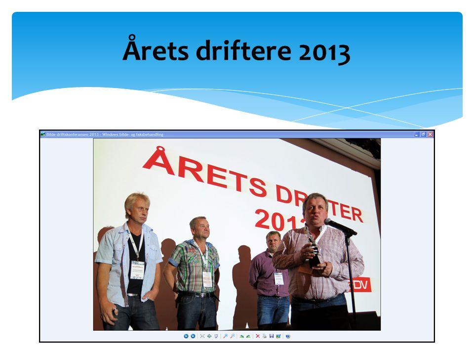 Årets driftere 2013