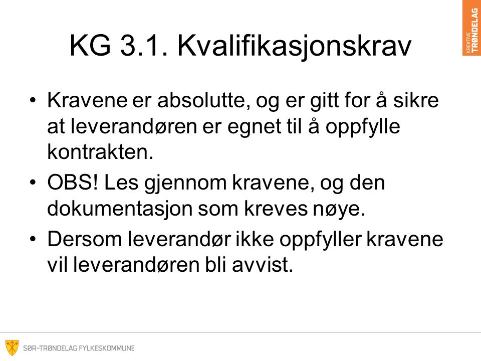 KG 3.1.
