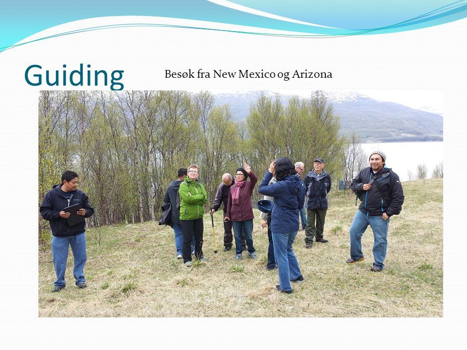 Guiding Besøk fra New Mexico og Arizona