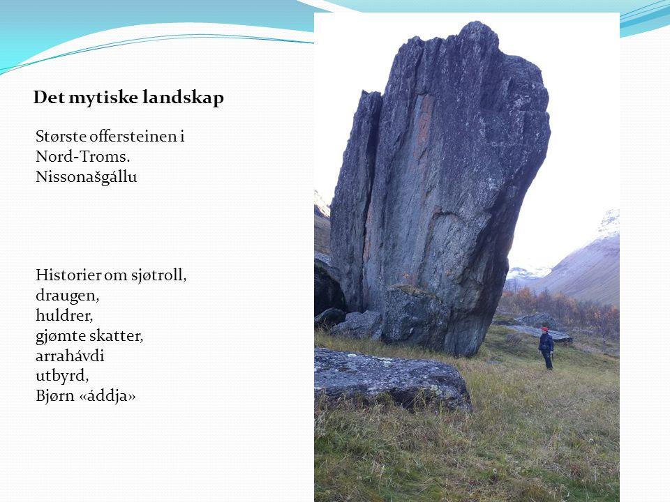 Største offersteinen i Nord-Troms.