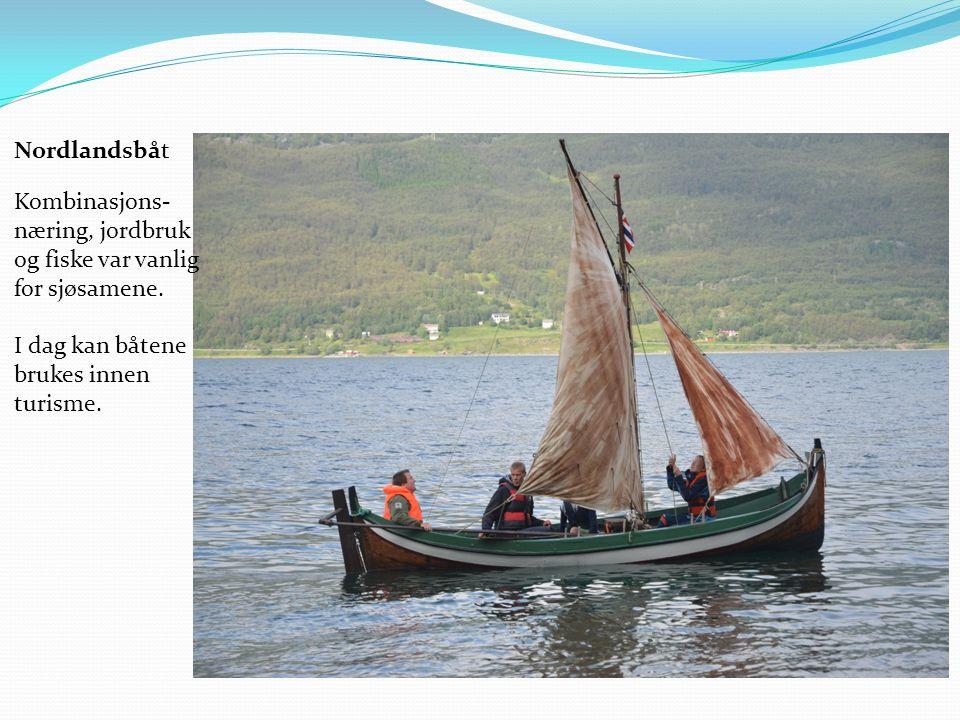 Kombinasjons- næring, jordbruk og fiske var vanlig for sjøsamene.