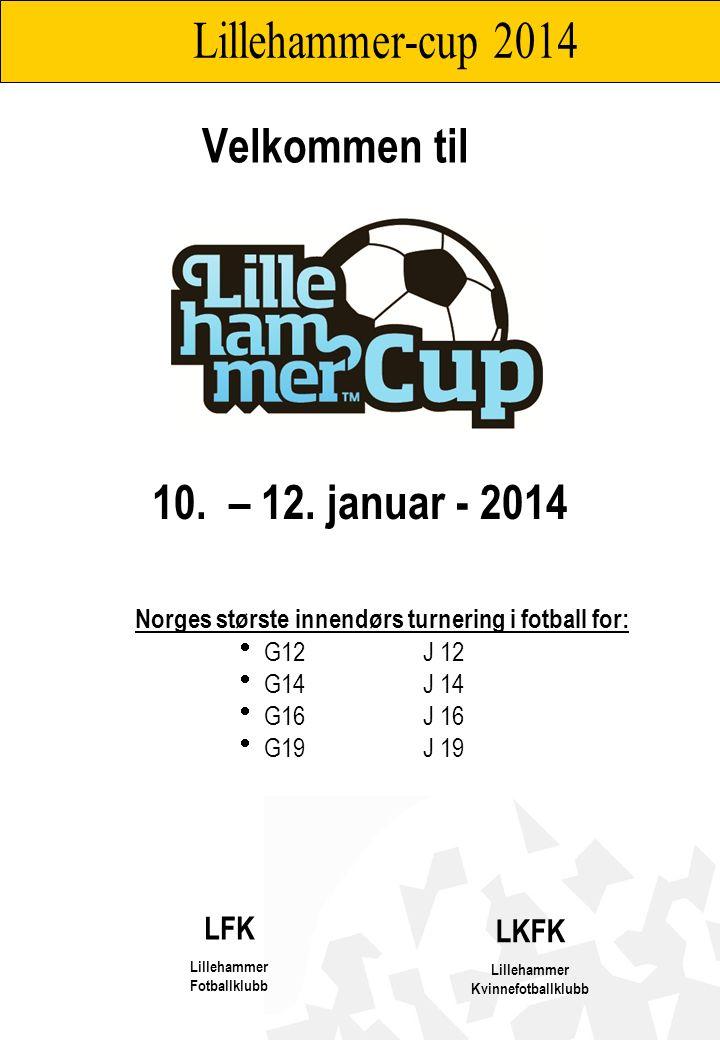 Lillehammer Kvinnefotballklubb og Lillehammer Fotballklubb har gleden av å invitere til LiLLEHAMMER-CUP i innendørs fotball 10.