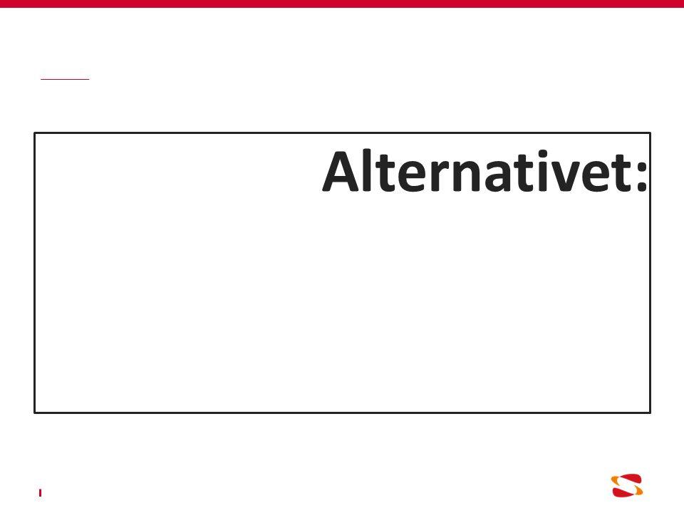 Alternativet: