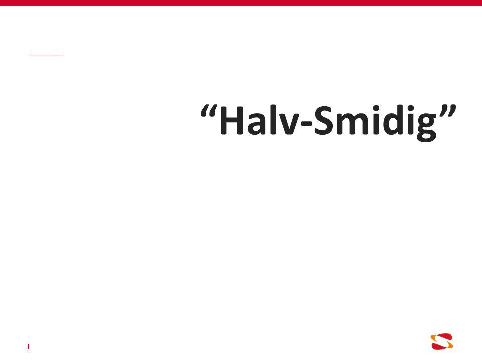 Halv-Smidig
