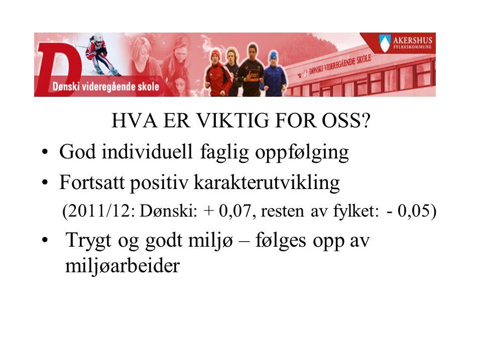 HVA ER VIKTIG FOR OSS.