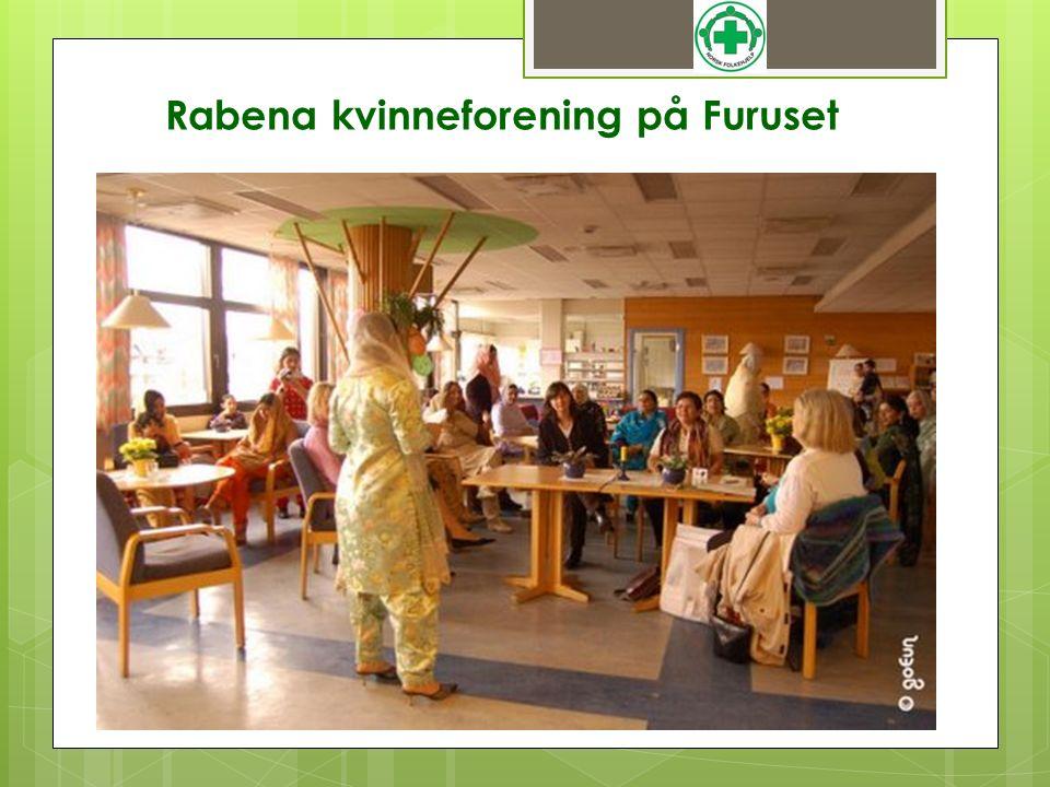 Rabena kvinneforening på Furuset