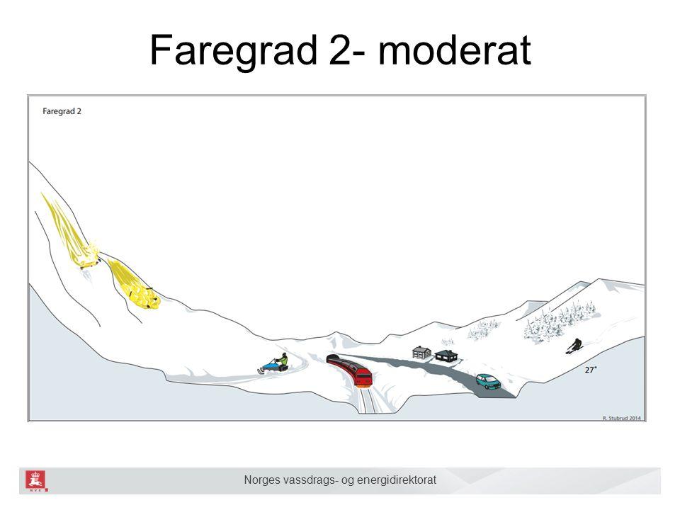 Norges vassdrags- og energidirektorat Faregrad 2- moderat