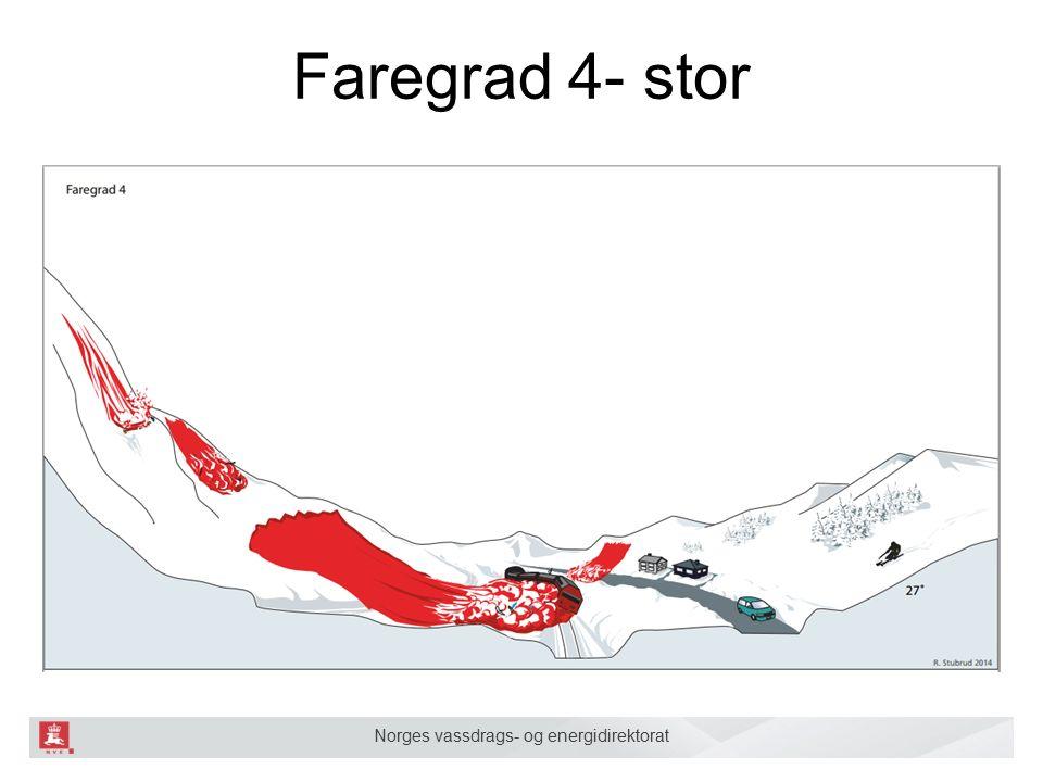 Norges vassdrags- og energidirektorat Faregrad 4- stor