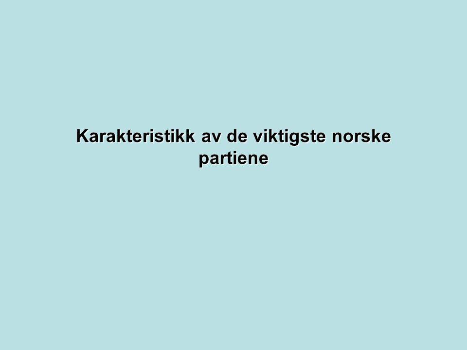 Venstre 1.Venstre er Norges eldste politiske parti, stiftet 28.