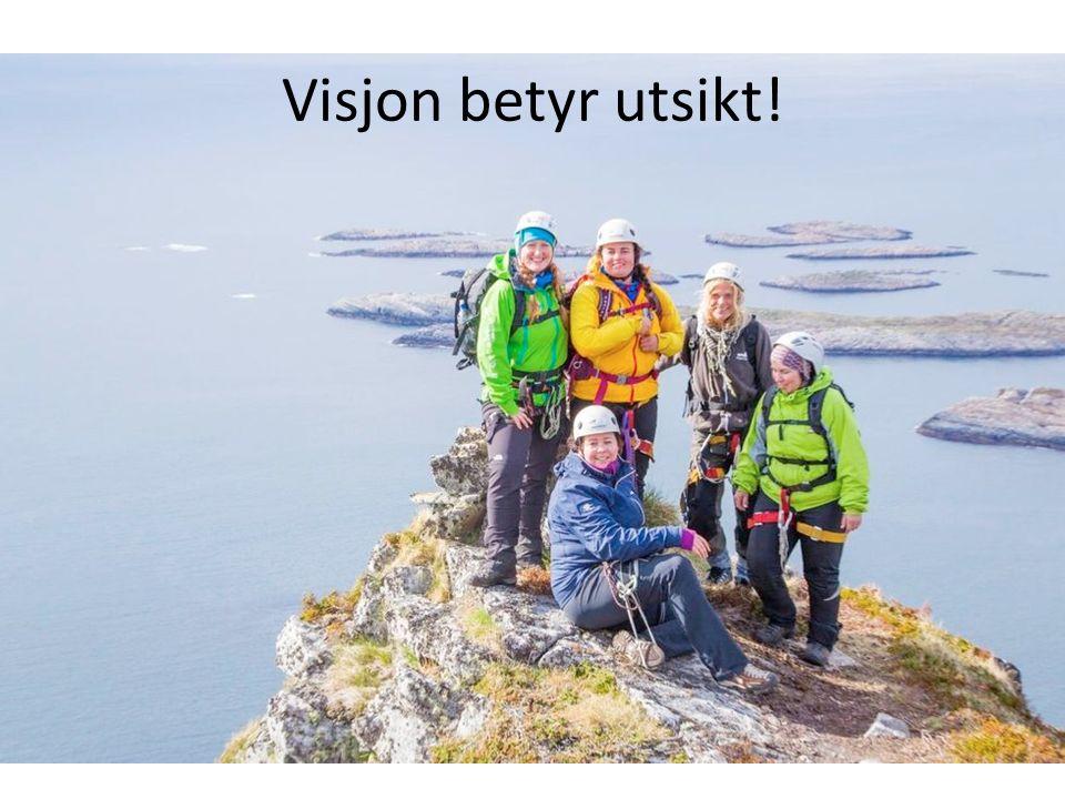 Visjon betyr utsikt!