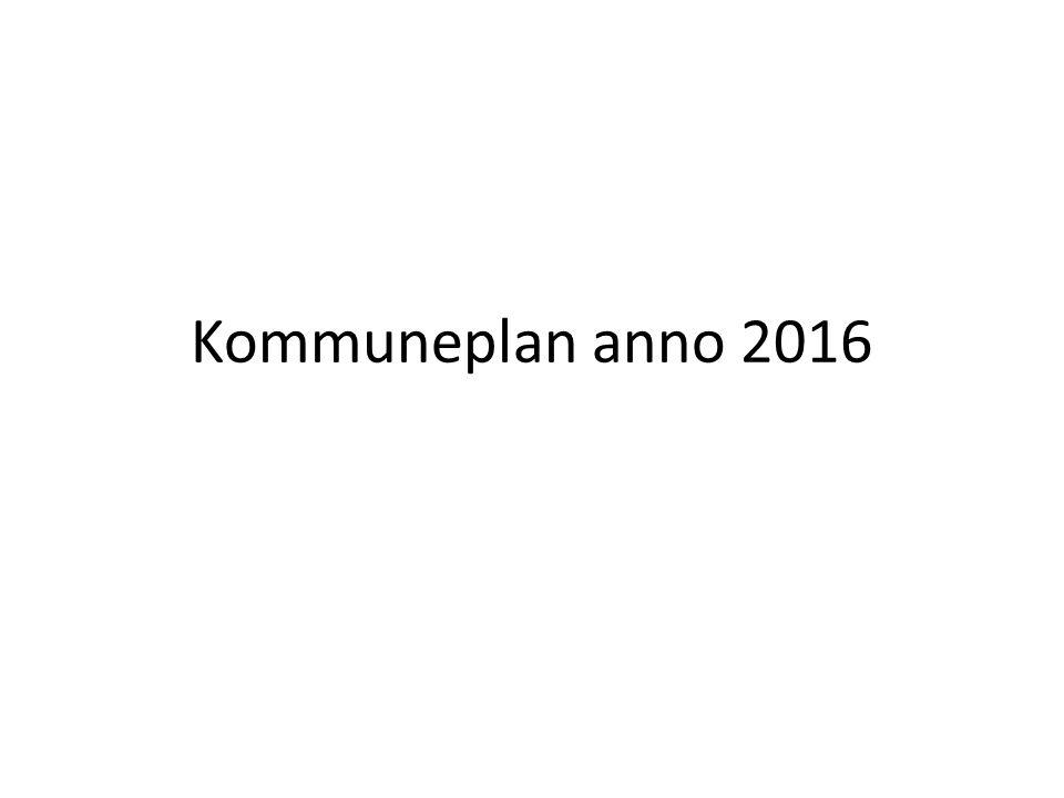 Kommuneplan anno 2016