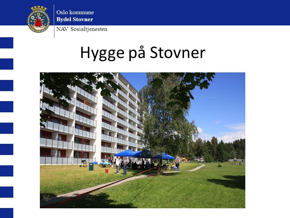 Oslo kommune Bydel Stovner NAV Sosialtjenesten Hygge på Stovner