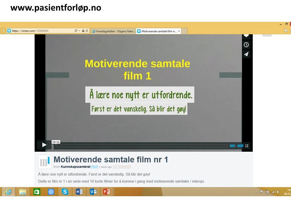 www.pasientforløp.no