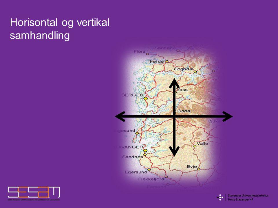 Horisontal og vertikal samhandling