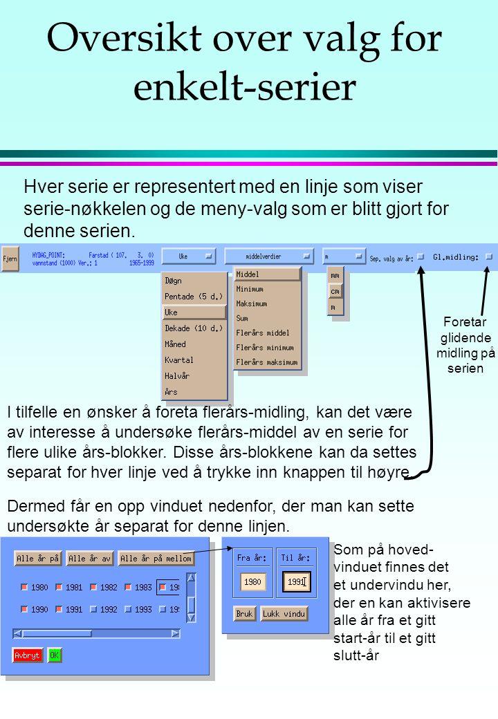 Meny-oversikt Dette meny-valget viser et vindu med en kort beskrivelse av DAGUT sin funksjonalitet.