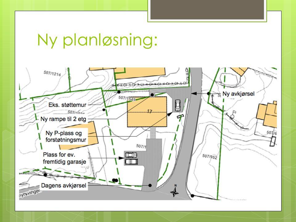 Ny planløsning: