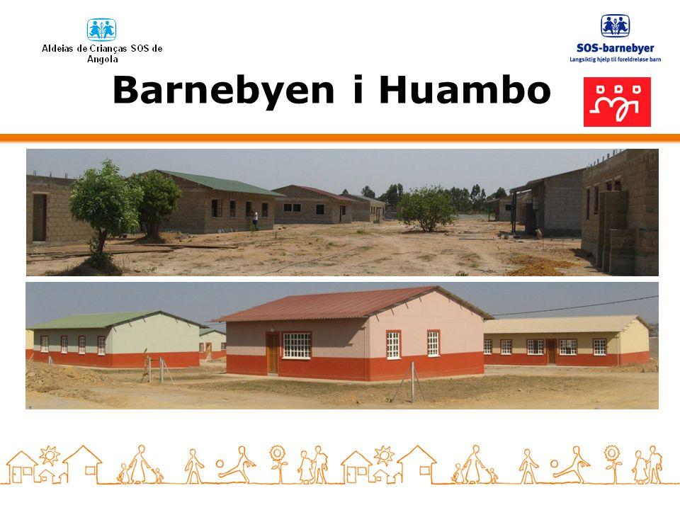 Barnebyen i Huambo