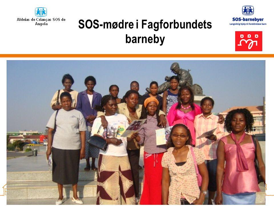 SOS-mødre i Fagforbundets barneby