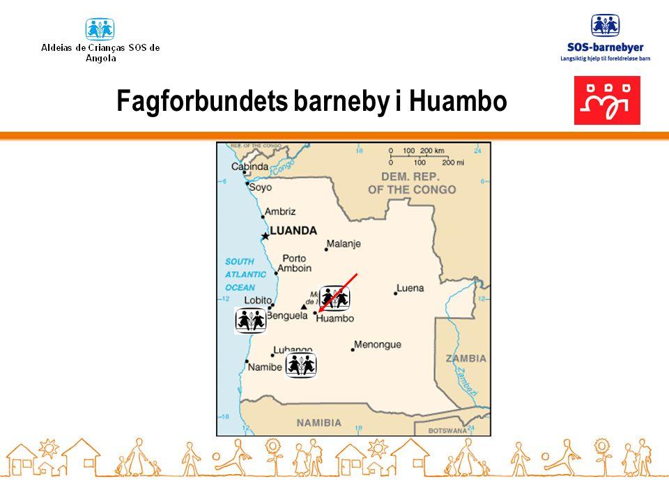 Omtanke – Solidaritet- Samhold Visjonen for barna i Huambo:
