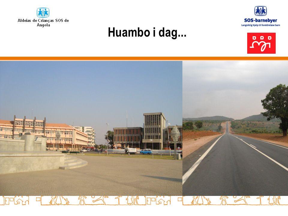 Huambo i dag...