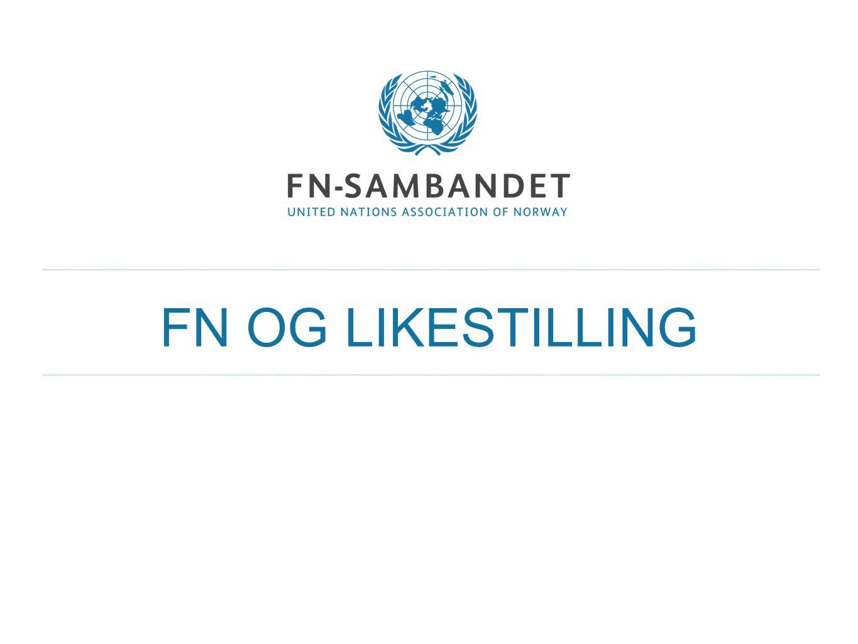 FN OG LIKESTILLING