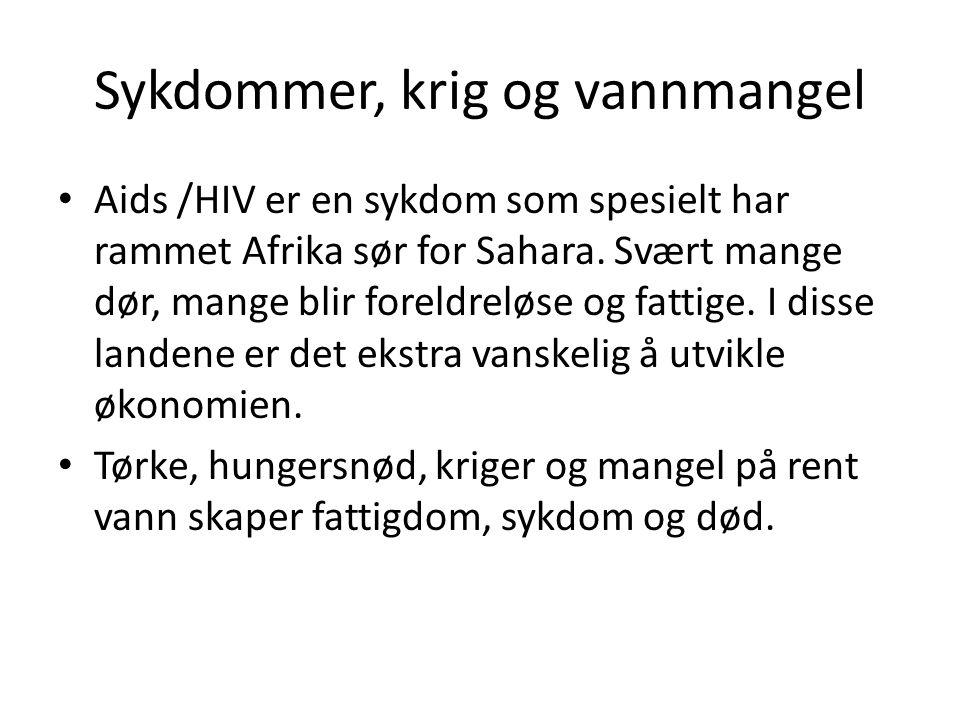Bistand Norge prøver å hjelpe til bl.a.ved å gi bistand.