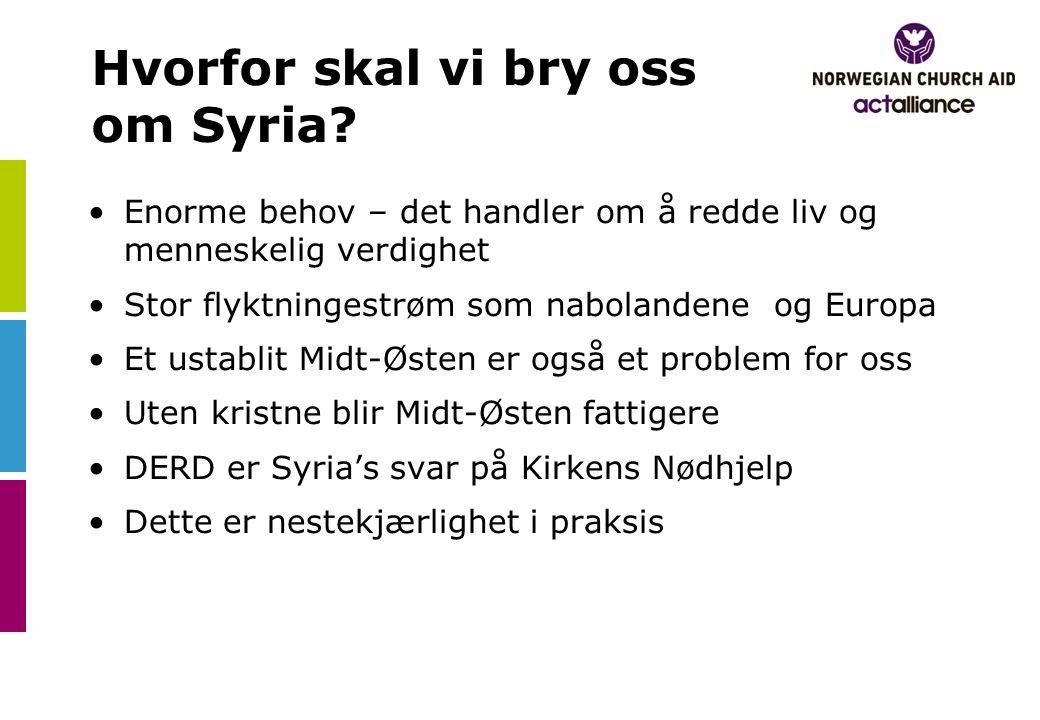 Hvorfor skal vi bry oss om Syria.