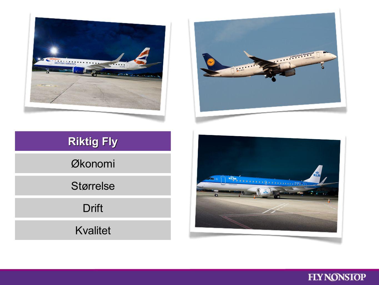Riktig Fly Økonomi Størrelse Drift Kvalitet