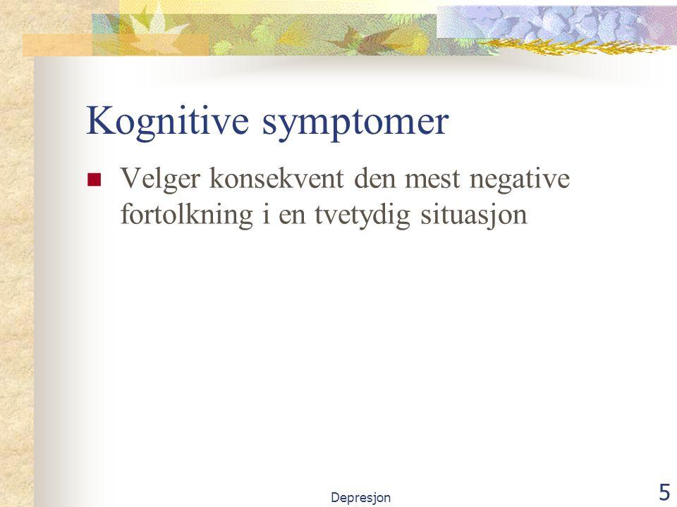 36 Klare mål Hva vil det si å føle seg bedre, frisk eller symptomfri.