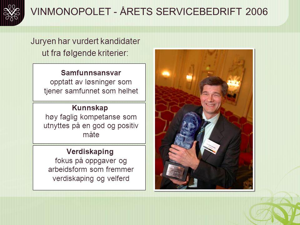 """STYREUTVIKLING ROMERIKE Lillestrøm 26. februar 2009 """"Vinmonopolet - fra forvaltningsorgan til servicebedrift"""" v/Kai G. Henriksen Adm. direktør AS Vinm"""