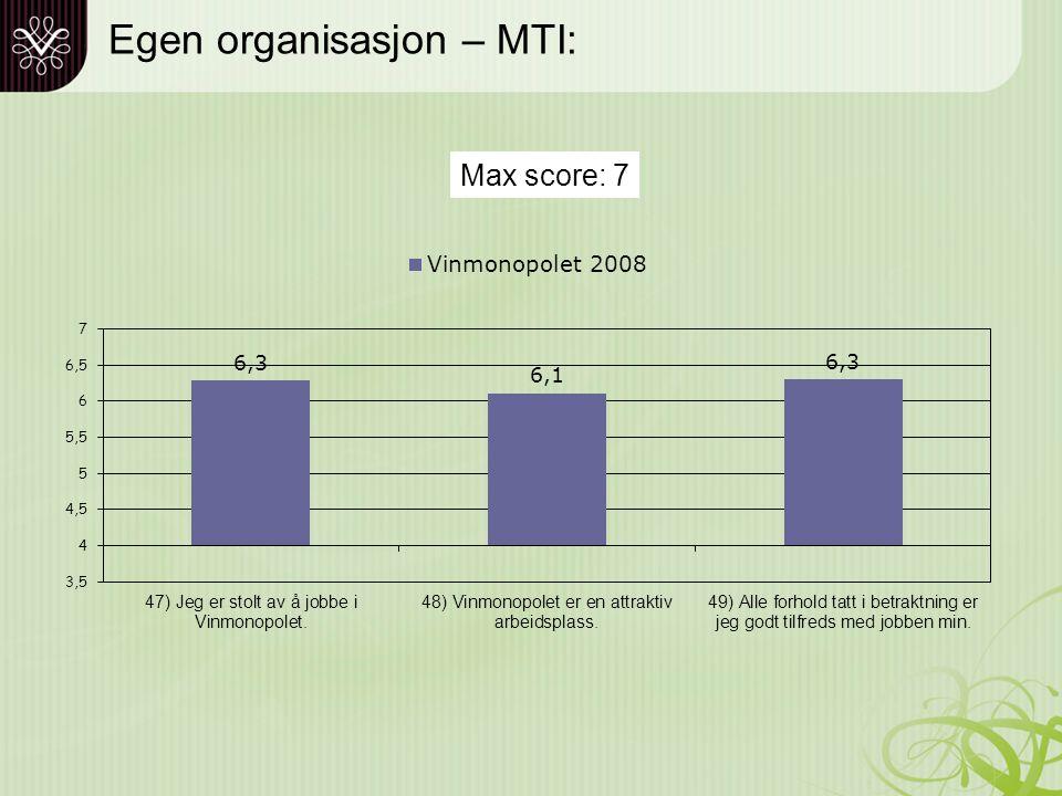 Profilundersøkelse 2008 'Store norske bedrifter'