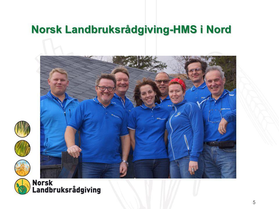 Sør Helgelands modellen.Lokalt landbrukskontor Mattilsynet NLR-HMS.