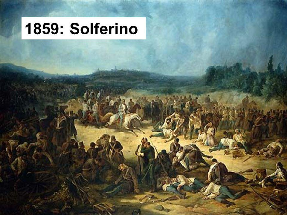 Hindrer og lindrer nød 1859: Solferino