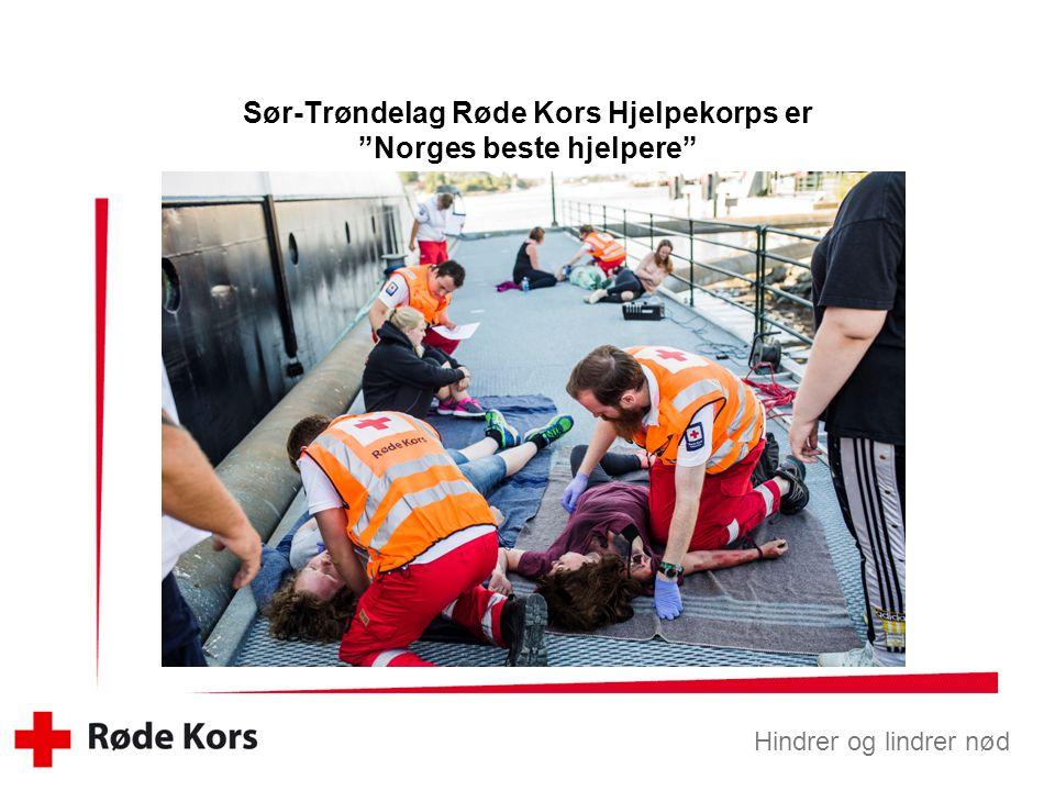 Hindrer og lindrer nød Nytt akuttmottak på Stav Skjermdump: adressa.no 10.november 2015