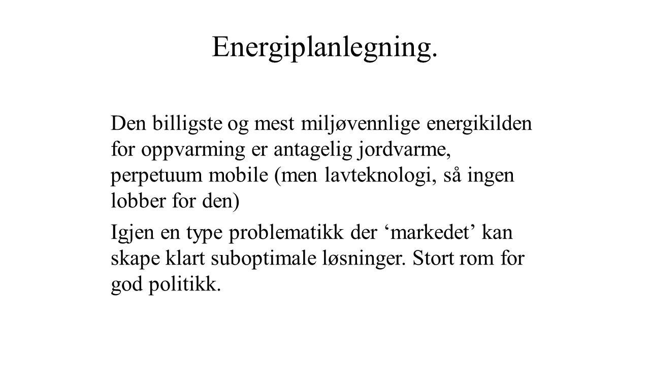 Energiplanlegning.