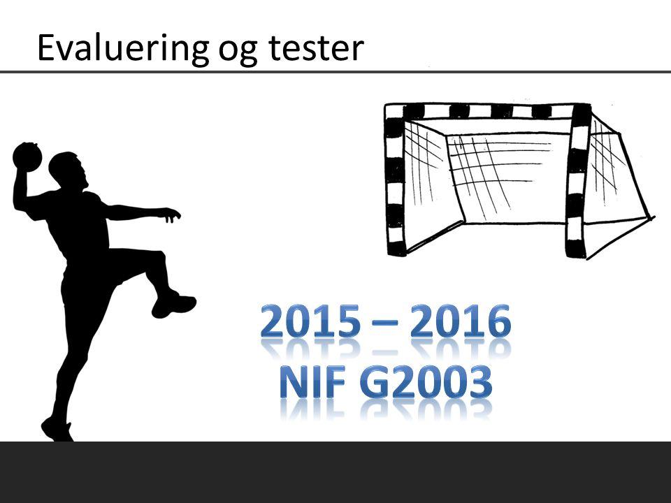 Støtteapparat & Trenerteam Evaluering sesong 2015 - 2016.