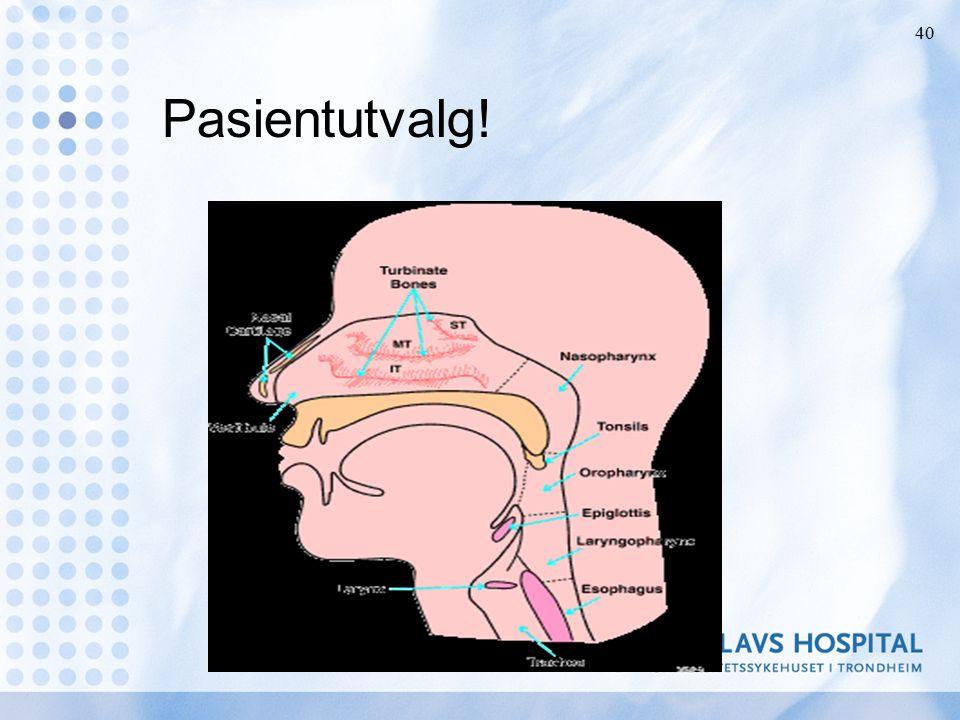 Behandlingsprinsipper kirurgi Korrigere patologi Reduksjon av vevsmengde Avstivning av bløtvev Omgåelse av hinder Dårligere resultat hvis BMI over 30