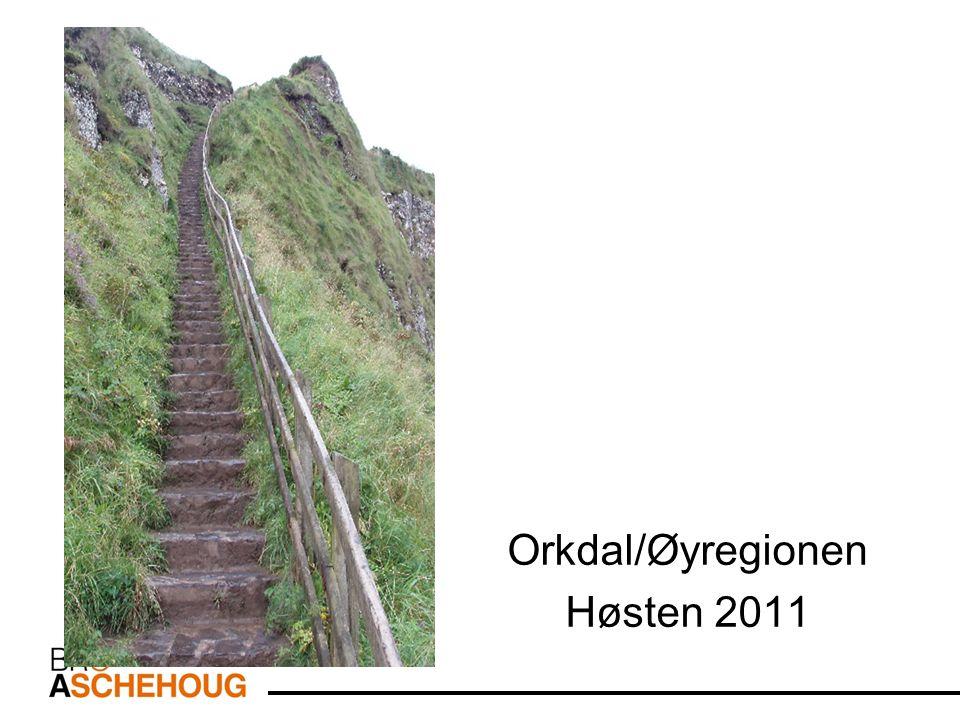 Orkdal/Øyregionen Høsten 2011