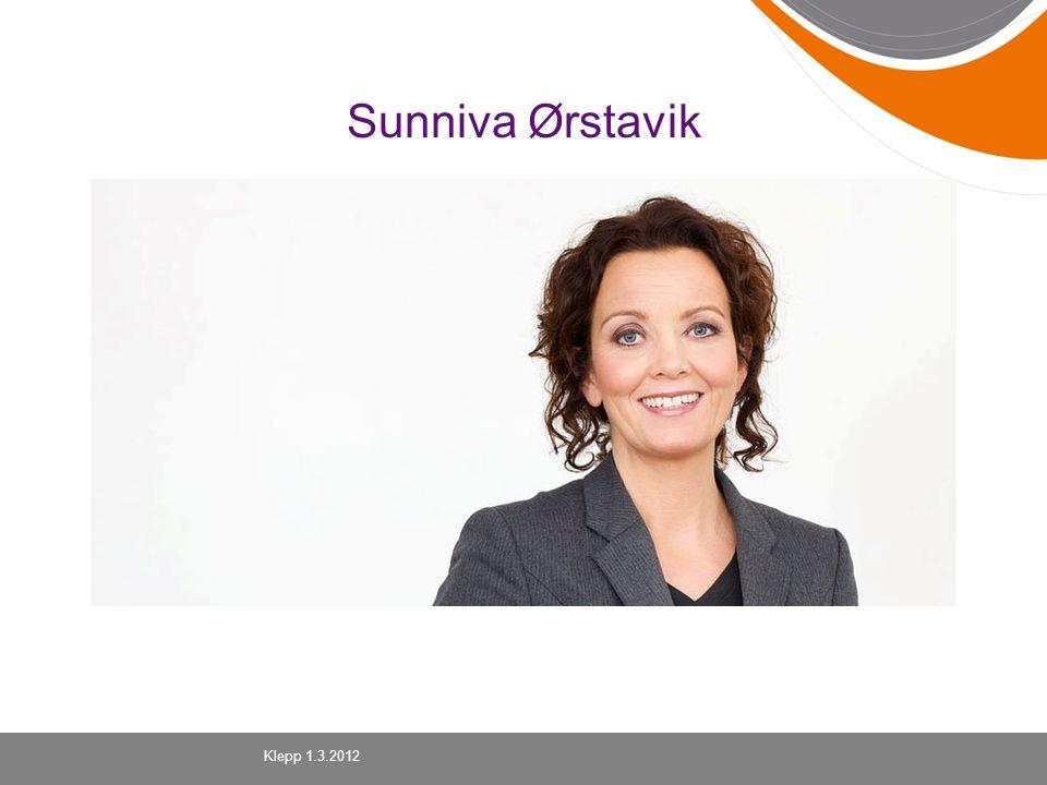 Sunniva Ørstavik Klepp 1.3.2012
