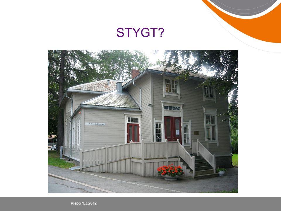 STYGT? Klepp 1.3.2012