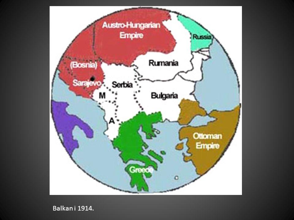 Balkan i 1914.