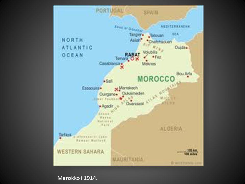 Marokko i 1914.