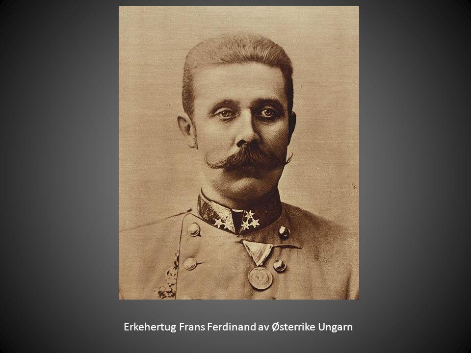 Erkehertug Frans Ferdinand av Østerrike Ungarn