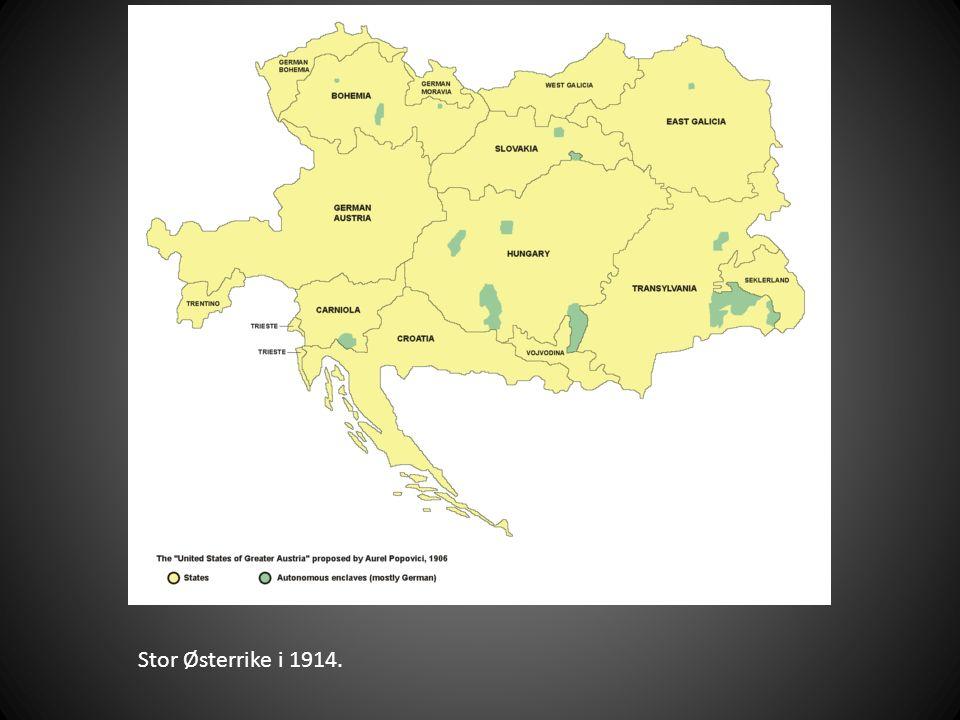 Stor Østerrike i 1914.