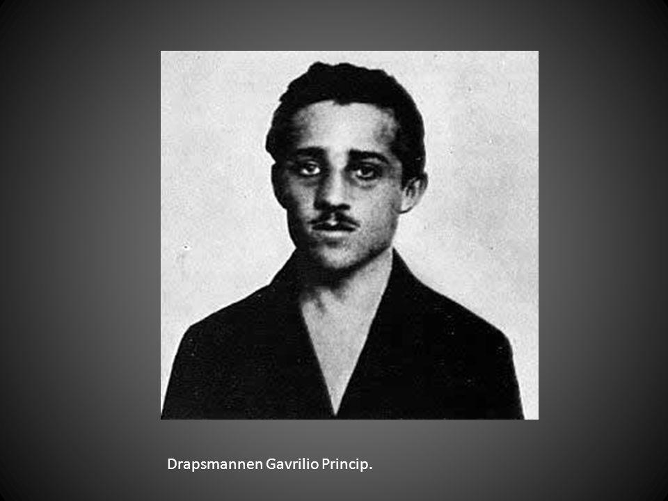 Drapsmannen Gavrilio Princip.