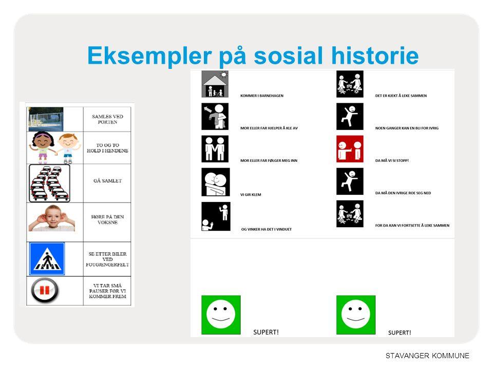 STAVANGER KOMMUNE Eksempler på sosial historie