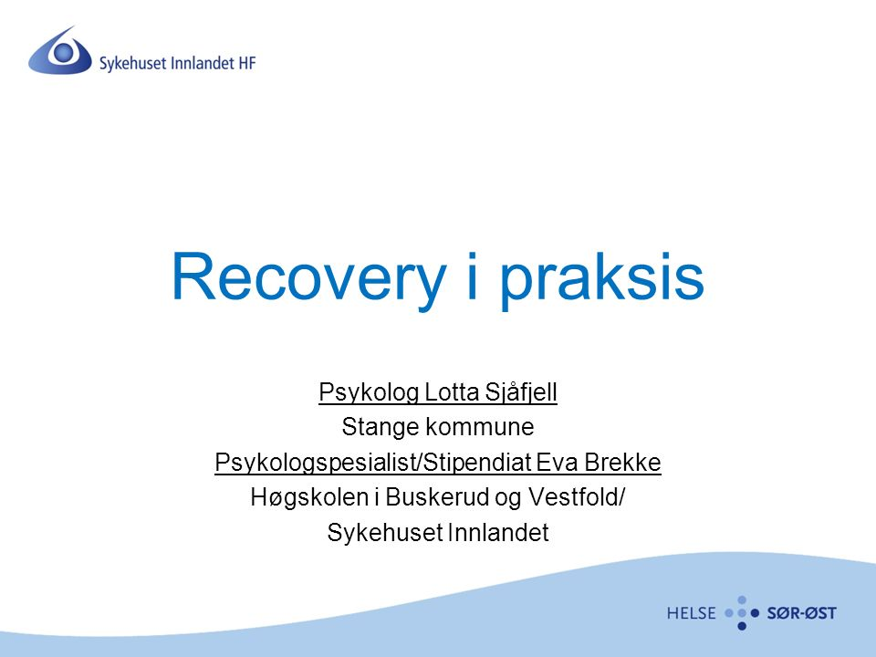 Komme i gang med KOR KOR-opplæring R-BUP www.theheartandsoulofchange.com www.fit-outcomes.com