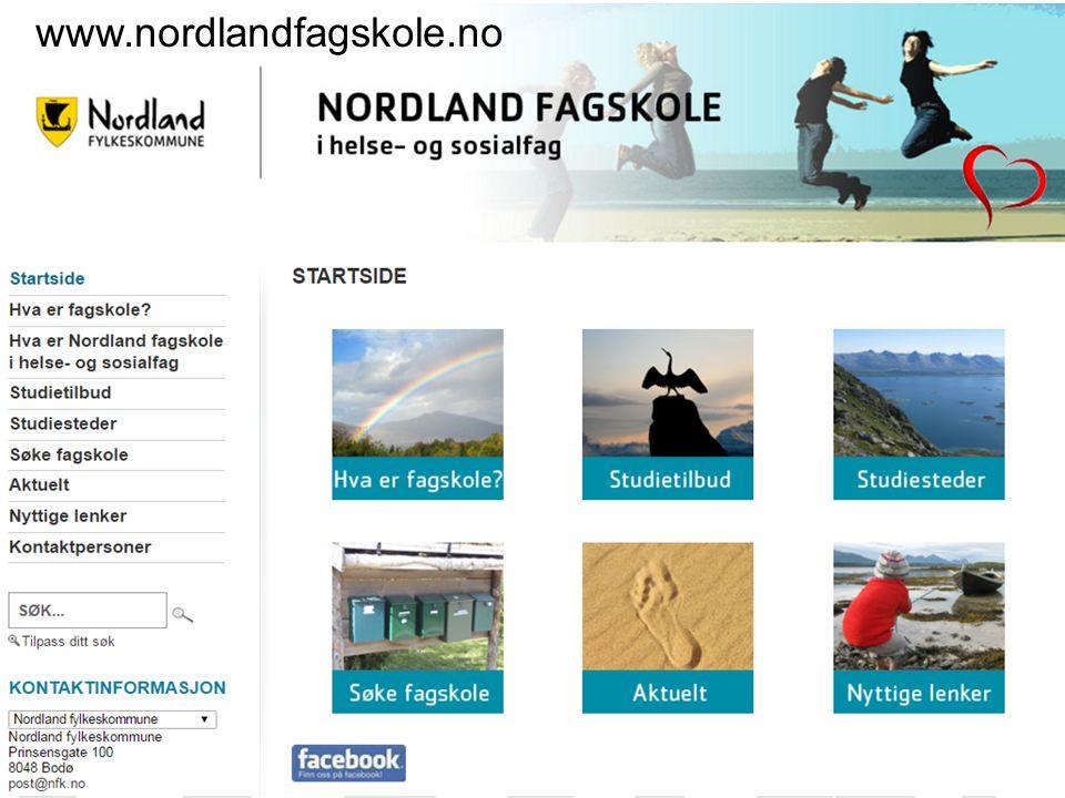 www.nordlandfagskole.no36 www.nordlandfagskole.no
