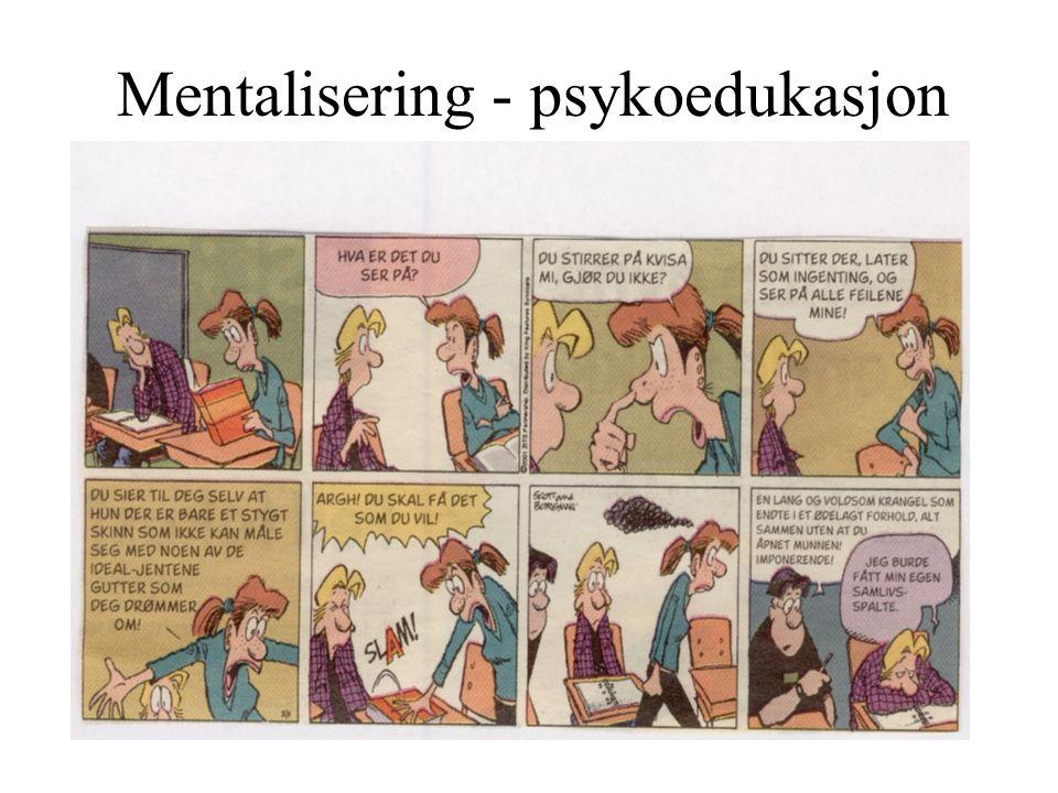 Mentalisering - psykoedukasjon